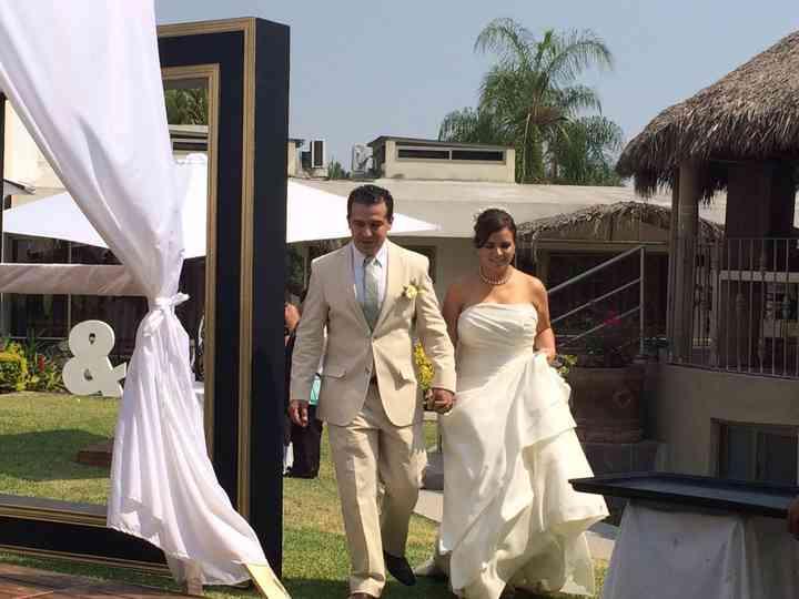 La boda de Cecilia y Alan