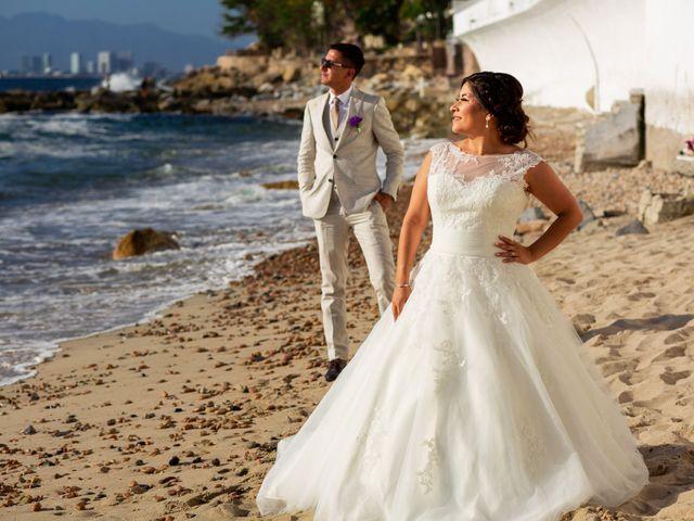 La boda de Karla y Esteban en Puerto Vallarta, Jalisco 24