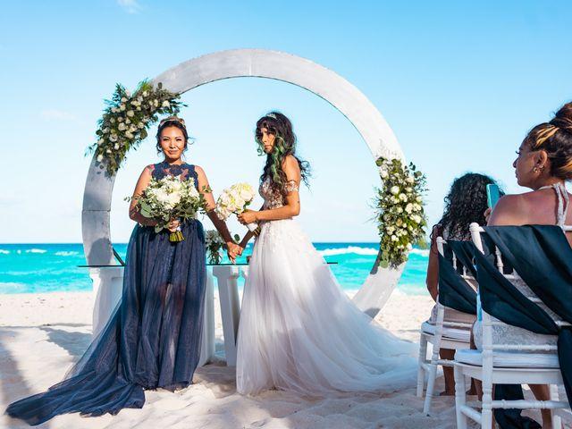 La boda de Gaby y Daniela en Cancún, Quintana Roo 23