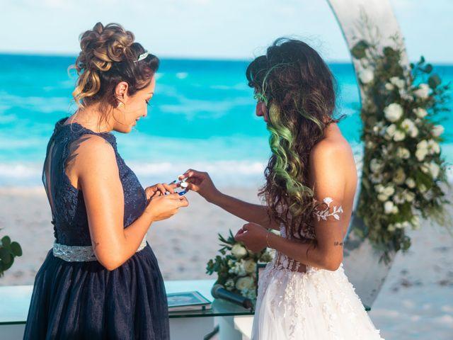 La boda de Gaby y Daniela en Cancún, Quintana Roo 31