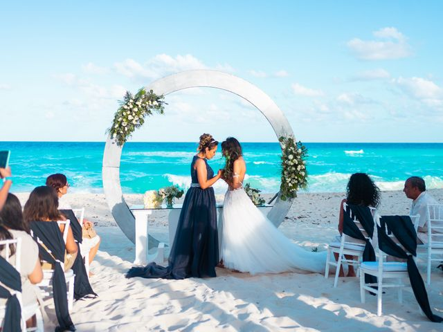 La boda de Daniela y Gaby