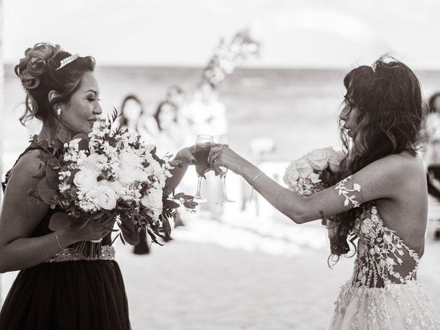 La boda de Gaby y Daniela en Cancún, Quintana Roo 36