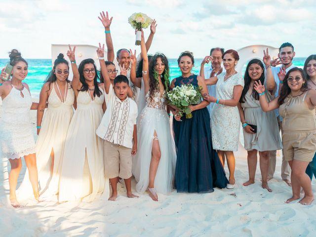 La boda de Gaby y Daniela en Cancún, Quintana Roo 43