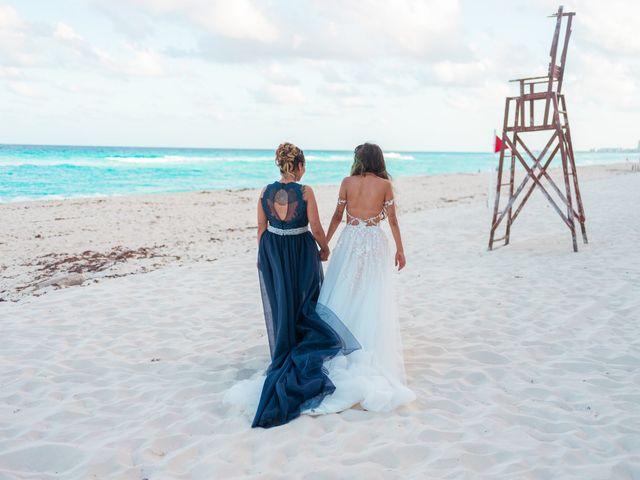 La boda de Gaby y Daniela en Cancún, Quintana Roo 50