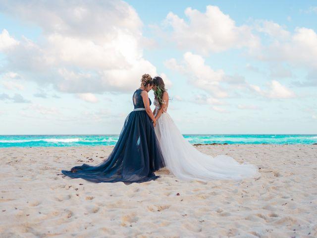 La boda de Gaby y Daniela en Cancún, Quintana Roo 51