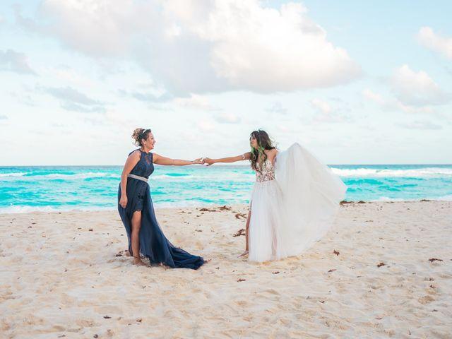 La boda de Gaby y Daniela en Cancún, Quintana Roo 56