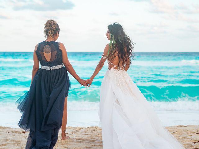 La boda de Gaby y Daniela en Cancún, Quintana Roo 57