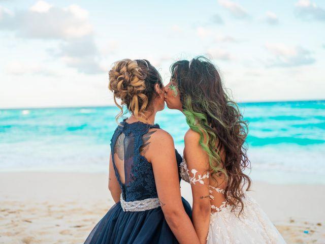 La boda de Gaby y Daniela en Cancún, Quintana Roo 58