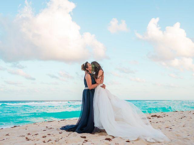 La boda de Gaby y Daniela en Cancún, Quintana Roo 60