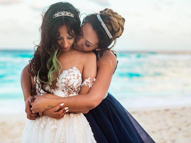 La boda de Gaby y Daniela en Cancún, Quintana Roo 62