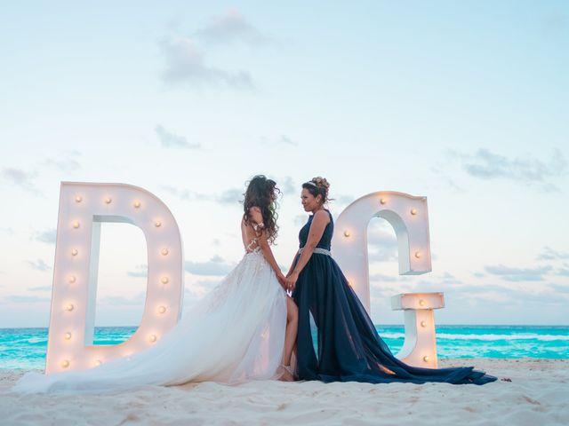 La boda de Gaby y Daniela en Cancún, Quintana Roo 65