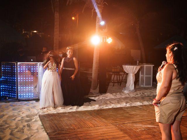 La boda de Gaby y Daniela en Cancún, Quintana Roo 74