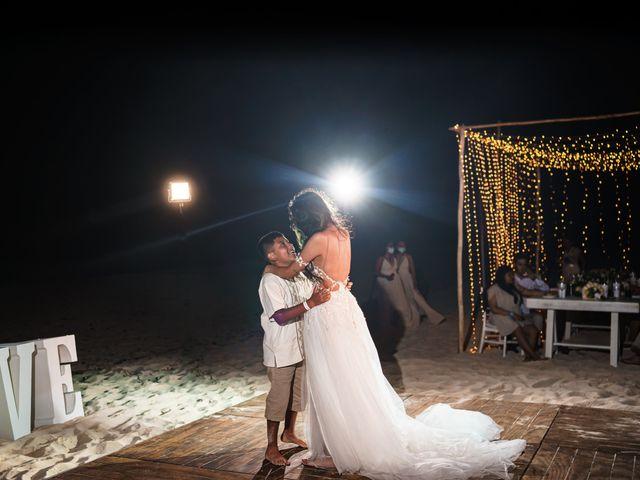 La boda de Gaby y Daniela en Cancún, Quintana Roo 80
