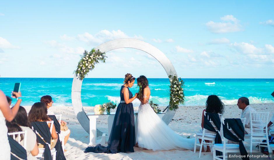 La boda de Gaby y Daniela en Cancún, Quintana Roo