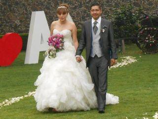 La boda de Alfredo y Yvonne