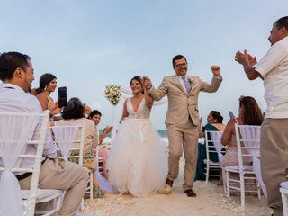 La boda de Viridiana y Paul