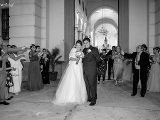 La boda de Treysi Pérez  y Jesús Aban  3