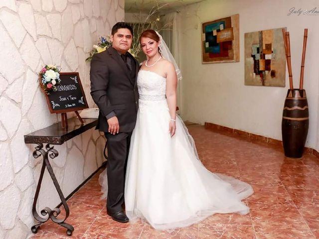 La boda de Treysi Pérez  y Jesús Aban