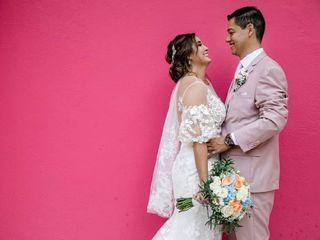 La boda de Ariadne y Bruno