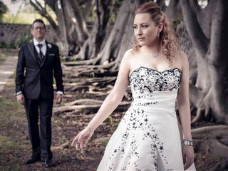 La boda de Aline y Alonso