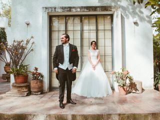 La boda de María y Gus