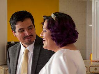 La boda de Cinthia y Sagae 2