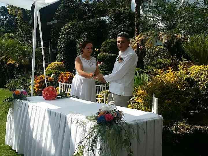 La boda de Rafael y Berenice