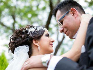 La boda de Nallely y David