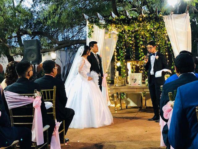 La boda de Aarón y Lilia Asseneth  en Ciudad Obregón, Sonora 3