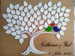 La boda de Catherine y Yael 3