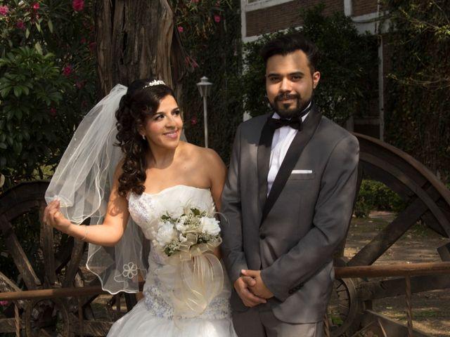La boda de Evelyn y Javier