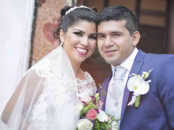 La boda de Thalía y Carlos