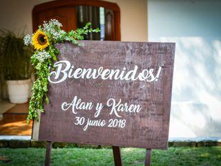 La boda de Karen  y Alan  1