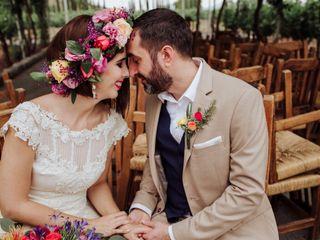 La boda de Irma y Víctor