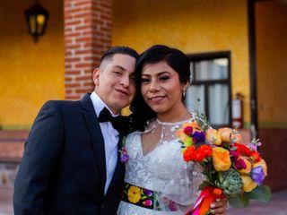 La boda de Génesis y Marco