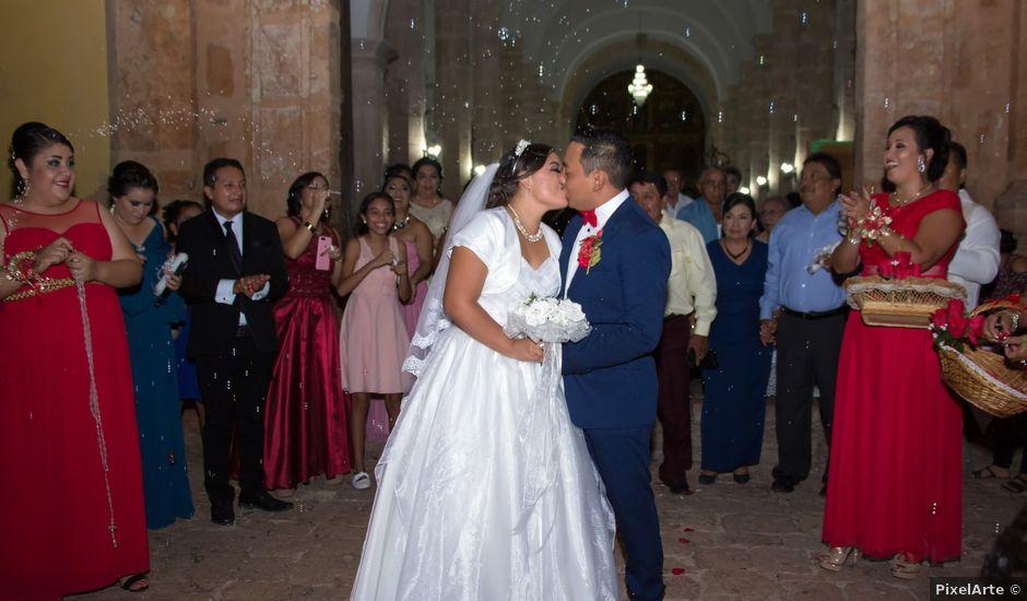 La boda de Emmanuel y Aida en Oxkutzcab, Yucatán