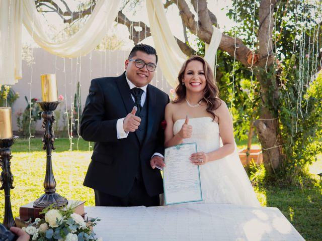 La boda de Hugo y Rosa Isela