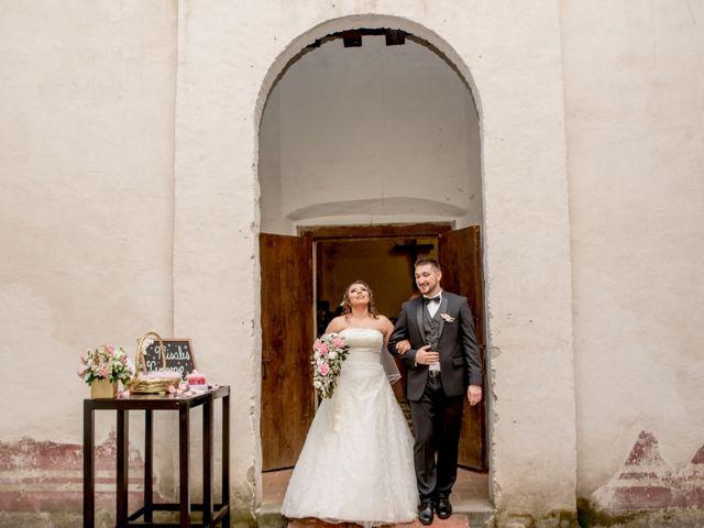 La boda de Jaqui y Brent