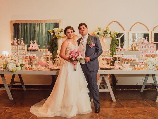La boda de Adriana y Abraham