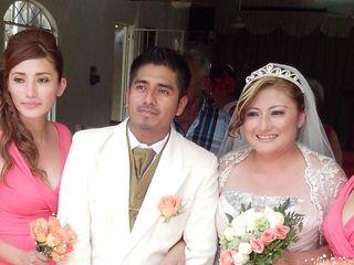La boda de Carlos y Erendira