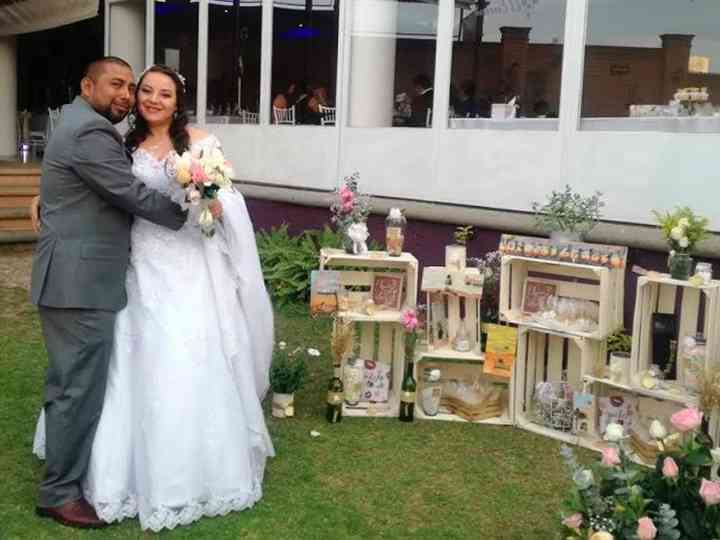 La boda de Balbi  y Adán