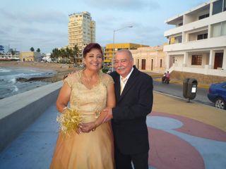 La boda de Eusebio  y Concepción