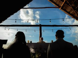 La boda de Claudia y Nelson