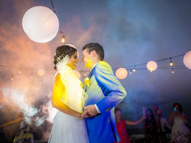 La boda de Merari y Robert