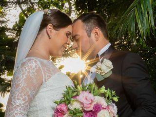 La boda de Estefanía y Eduardo