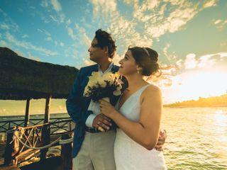 La boda de Michelle y Federico 1