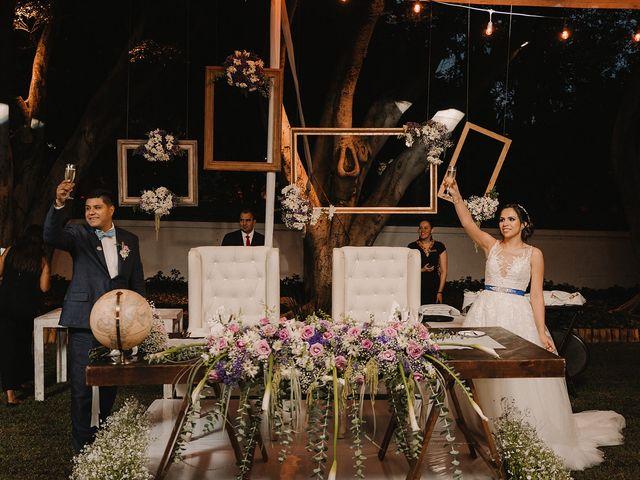 La boda de Ofelia y Alberto