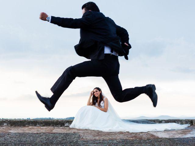 La boda de Catalina y Israel