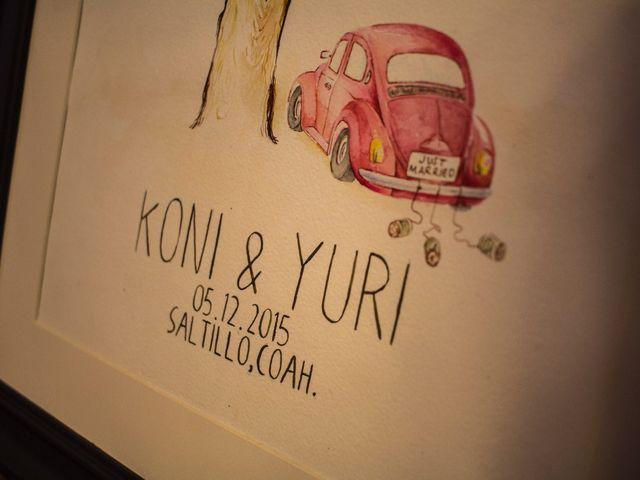 La boda de Koni y Yuri en Saltillo, Coahuila 21