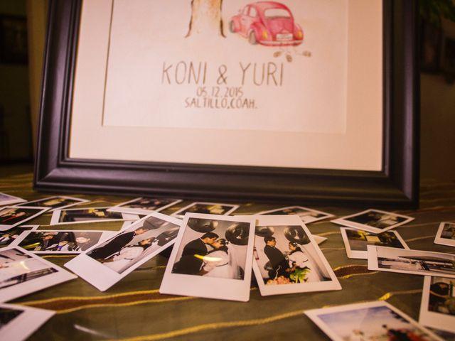 La boda de Koni y Yuri en Saltillo, Coahuila 25